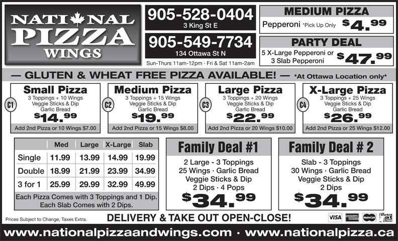 Ads National Pizza Ltd