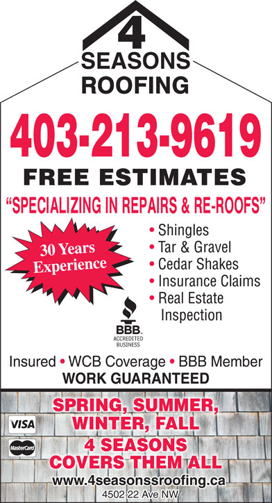 Ads Four Seasons Roofing