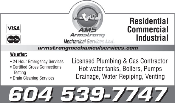 Ads Armstrong Mechanical Services
