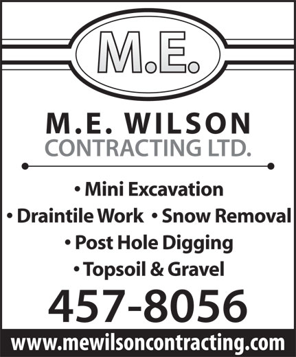 Ads M E Wilson Contracting Ltd