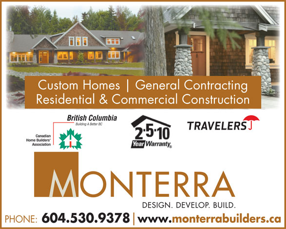 Ads Monterra West Homes Ltd.