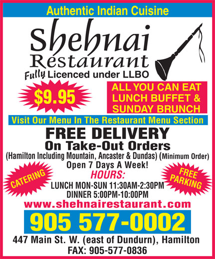 Ads Shehnai Restaurant