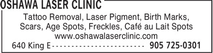 Ads Oshawa Laser Clinic