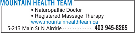 Ads Mountain Health Team