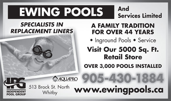 Ads Ewing Pools & Services Limited