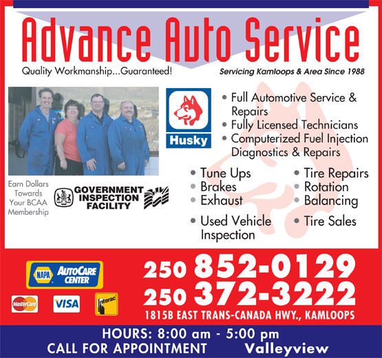 Ads Advance Auto Service