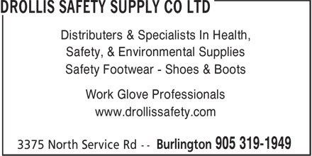 Ads Drollis Safety Supply Co Ltd
