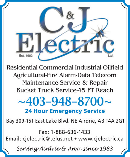 Ads C &amp; J Electric Ltd