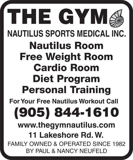 Ads Gym Nautilus Sports Medical, The