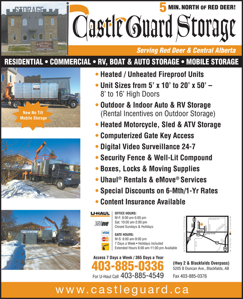 Ads Castle Guard Storage