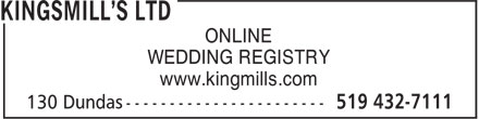 Ads Kingsmill's Ltd