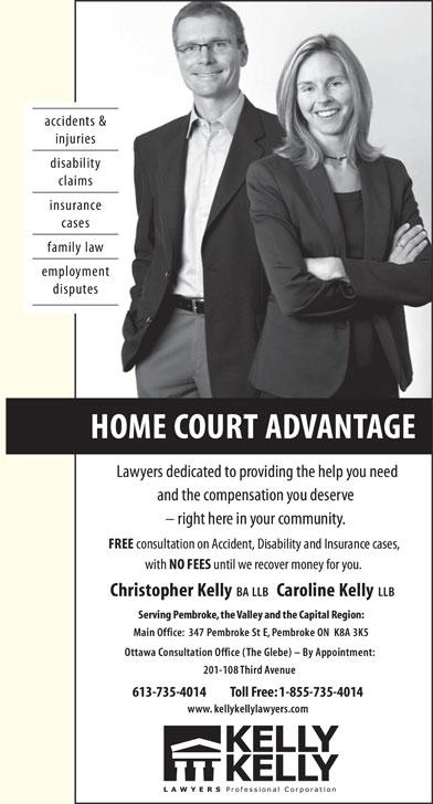 Kelly kelly legal counsel pembroke on 347 pembroke for Homecourt code postal