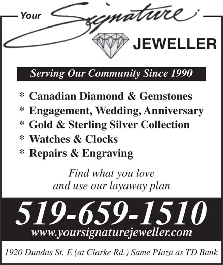 Ads Your Signature Jeweller