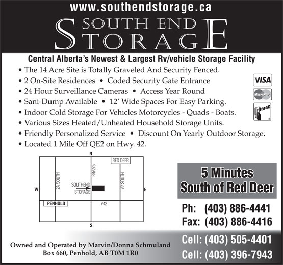 Ads South End Storage
