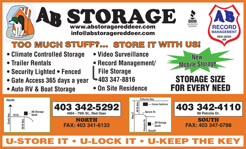 Ads AB Storage North