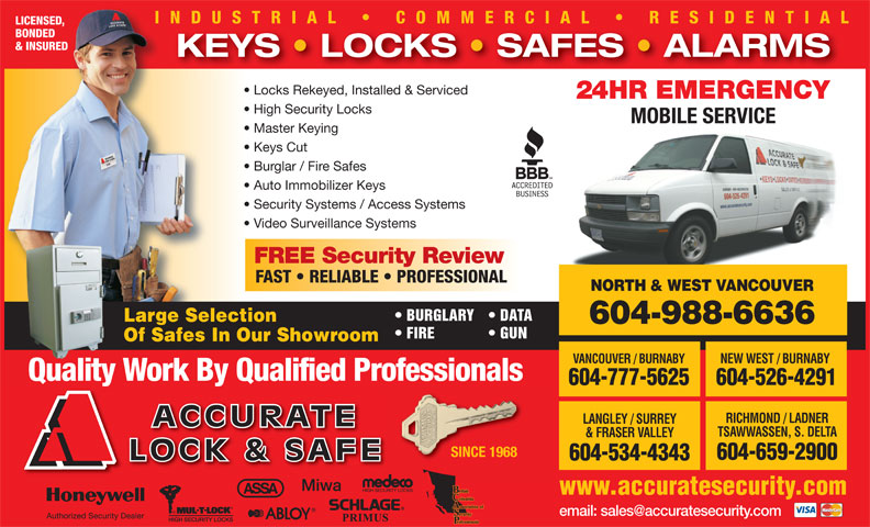 Ads Accurate Lock & Safe Co Ltd