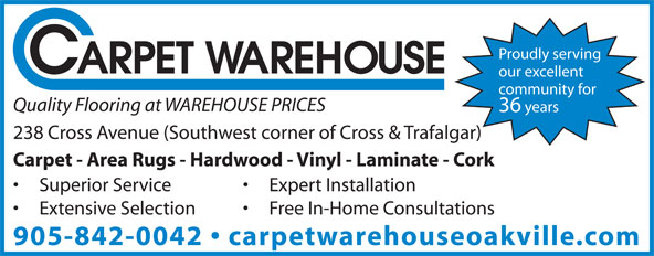 Ads Carpet Warehouse