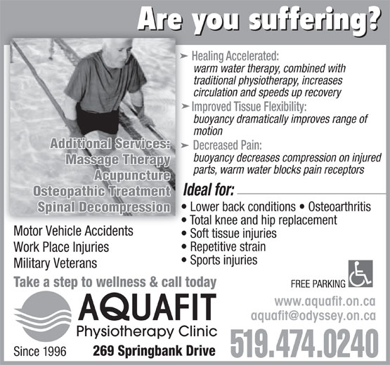 Ads Aquafit Physiotherapy Clinic