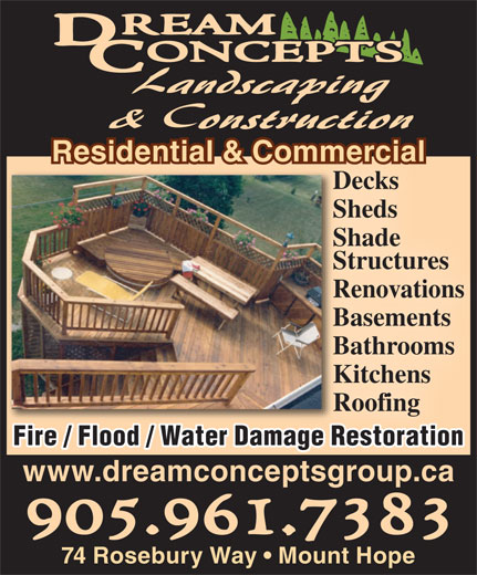 Ads Dream Concepts Landscaping &amp; Construction