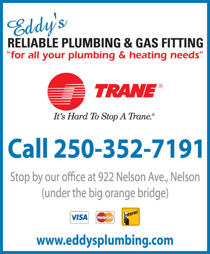 Ads Eddy&#039;s Reliable Plumbing &amp; Gas Fitting