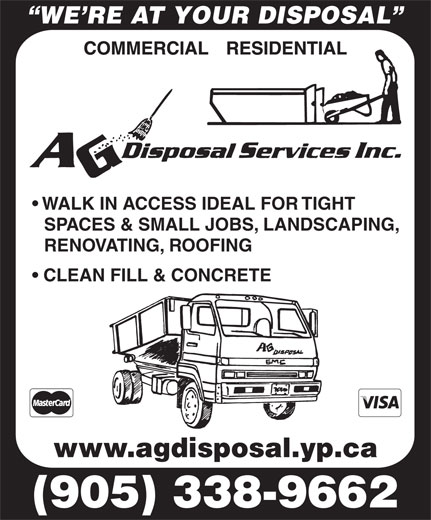 Ads AG Disposal Services Inc