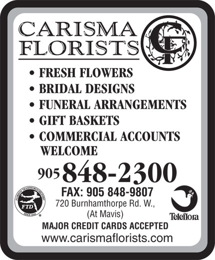 Ads Carisma Florists Ltd