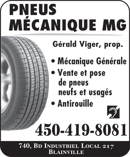 Ads Pneus Mecanique MG