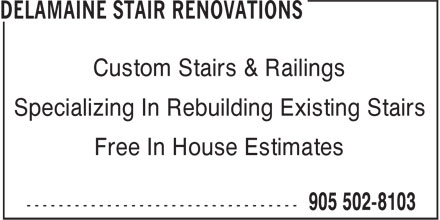 Ads Delamaine Stair Renovations