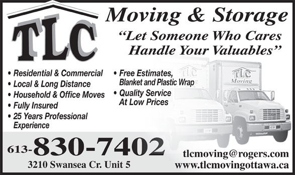 Ads TLC Moving & Freight