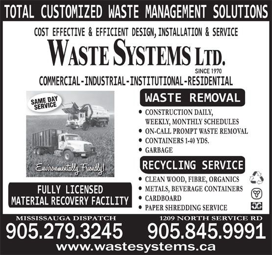 Ads Waste Systems Ltd