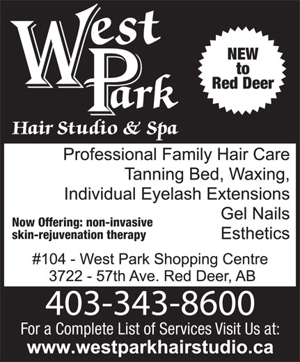 Ads West Park Hair Studio & Spa