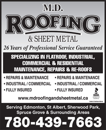 Ads MD Roofing & Sheet Metal