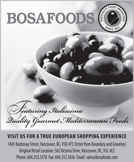 Ads Bosa Foods