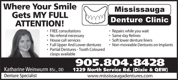Ads Mississauga Denture Clinic