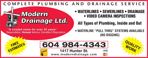 Ads Modern Drainage Ltd