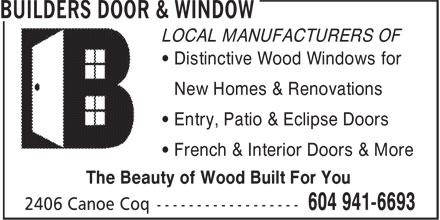 Ads Builders Door & Window