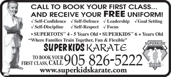Ads Superkids Karate