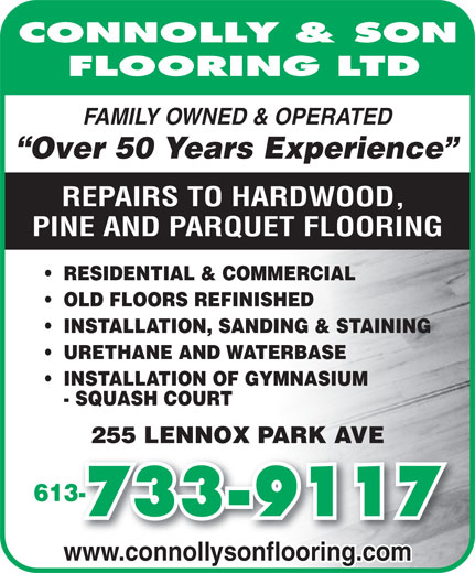 Ads Connolly &amp; Son Flooring Ltd