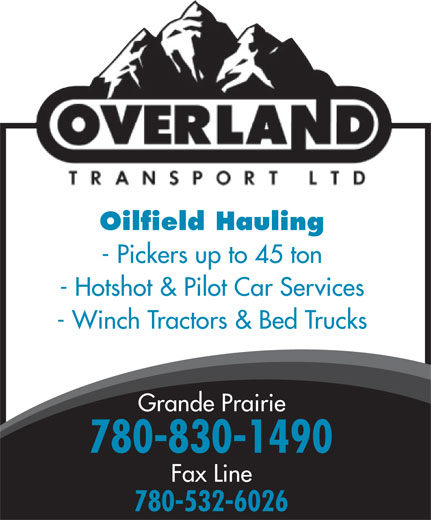 Ads Overland Transport Ltd