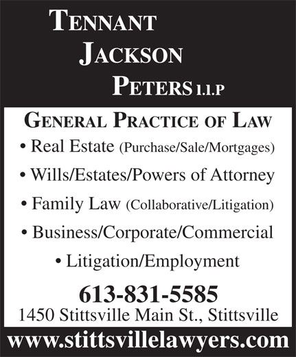 Ads Tennant Jackson Peters LLP