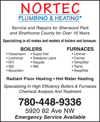 Ads Nortec Plumbing &amp; Heating