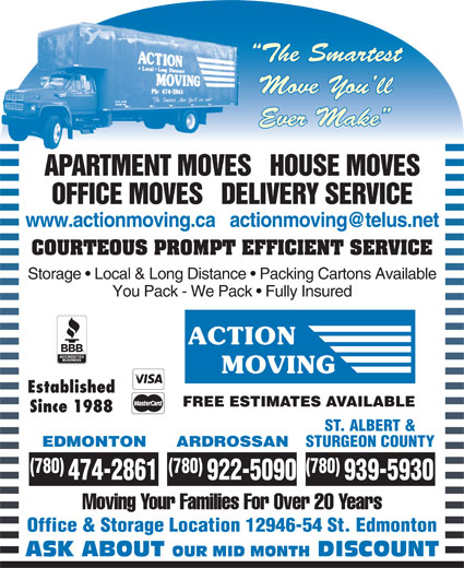Ads Action Moving &amp; Storage