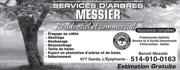 Ads Services D&#039;Arbres Messier