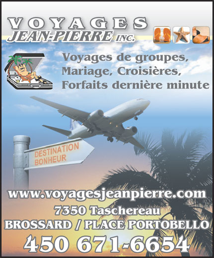 Ads Voyages Jean-Pierre Inc