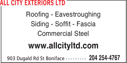 Ads All City Exteriors Ltd