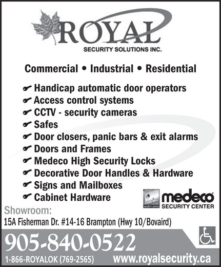 Ads Royal Security Solutions Inc