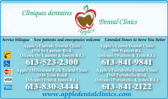 Ads Apple&#039;s Elmvale Dental Clinic
