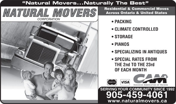 Ads Natural Movers Corporation