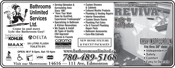 Ads Bathrooms Unlimited Services Ltd