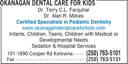 Ads Okanagan Dental Care For Kids